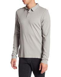 Benson | Long Sleeve Polo Shirt | Lyst