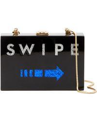 MILLY - Swipe Box Clutch - Lyst