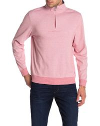 Brooks Brothers - Quarter-zip Pullover Sweater - Lyst