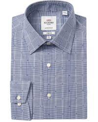 Ben Sherman - Glen Plaid Tailored Slim Fit Dress Shirt - Lyst