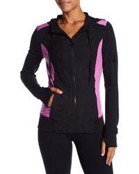 Trina Turk - Drawstring Hooded Jacket - Lyst