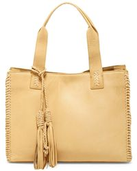 Sondra Roberts - Whipstitched Nappa Tote - Lyst