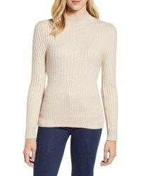 Chelsea28 - Mixed Rib Sweater - Lyst