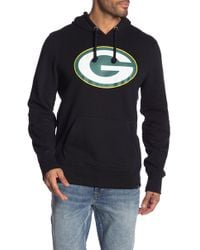 1a4c4617e Lyst - 47 Brand  green Bay Packers - Stealth  Camo Crewneck ...