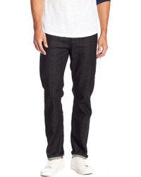 Volcom - Solver Modern Fit Straight Leg Jeans - Lyst