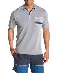 Travis Mathew - Maravilla Stripe Pocket Polo - Lyst