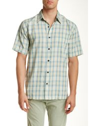 Kahala - Up Country Plaid Short Sleeve Shirt - Lyst
