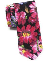 Original Penguin - Sterrett Floral Skinny Tie - Lyst