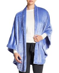 N Natori - Fleece Bed Jacket - Lyst