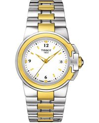 Tissot | Women's Two-tone Sport Watch, 31mm | Lyst