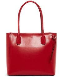 Lodis - Audrey Cecily Leather Satchel Tote Bag - Lyst