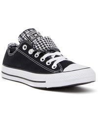 Converse - Chuck Taylor Double Tongue Oxford Sneaker - Lyst