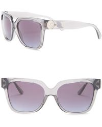 3d3c003feb Lyst - Michael Kors 52mm Round Sunglasses in Gray