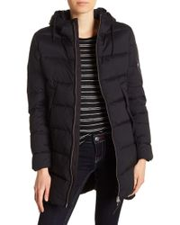 True Religion - Quilted Down Coat - Lyst