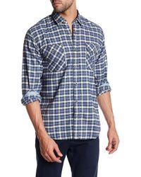 James Campbell - Gonzalo Plaid Long Sleeve Regular Fit Shirt - Lyst