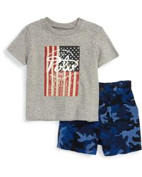 Pink Pony - Graphic T-shirt And Print Shorts Set (baby Boys) - Lyst