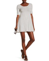 Billabong - Nothing To Hide Ribbed T-shirt Dress - Lyst