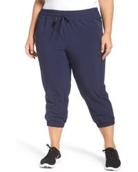 Zella - Out & About Crop Jogger Trousers - Lyst