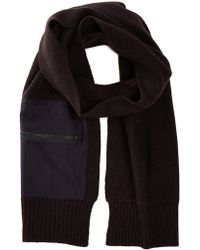 INHABIT - Cargo Pocket Scarf - Lyst