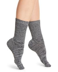Frye - Marled Knit Crew Socks - Lyst
