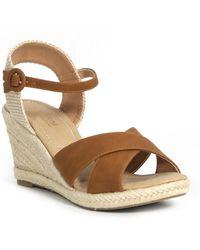 e7e16b0c35a4c Catherine Malandrino - Endy Ankle Strap Espadrille Wedge Sandal - Lyst