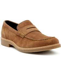 Gordon Rush - Penny Suede Slip-on Loafer - Lyst