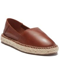 ALDO - Hairabeth Leather Espadrille Loafer - Lyst