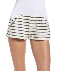 Olympia Theodora - Tammy Lounge Shorts - Lyst