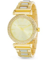 Steve Madden - Women's Double Row Bracelet Watch, 38mm - Lyst