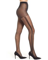 47b23a063534d Pretty Polly Secret Socks Cable Knit Tights in Blue - Lyst