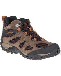 Merrell - Yokota Mid Ankle Waterproof Hiking Boot - Lyst