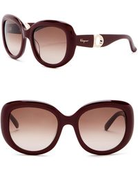65fa50aebb48f Lyst - MICHAEL Michael Kors Women s Kai Aviator Sunglasses in Metallic