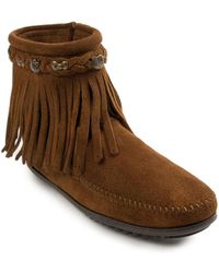 Minnetonka - Hello Kitty Fringe Boot - Lyst