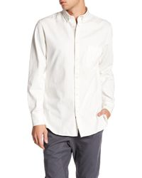 Zanerobe - Regular Fit Canvas Shirt - Lyst