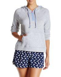 Jane & Bleecker New York - French Terry Hooded Sweatshirt - Lyst