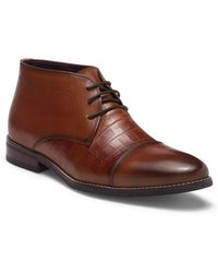 Hart Schaffner Marx - Lauderdale Leather Chukka Boot - Lyst