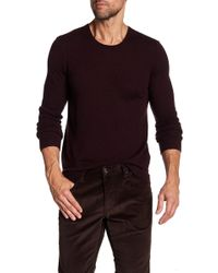 John Varvatos - Crew Neck Cashmere Sweater - Lyst