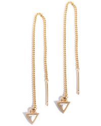 Shiraleah - Ophelie Threader Earrings - Lyst
