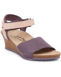 Birkenstock - Eve Wedge Sandal - Discontinued - Lyst