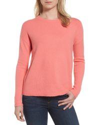 Halogen - Bow Back Sweater (regular & Petite) - Lyst