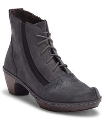 Naot - Avila Leather Lace-up Boot - Lyst