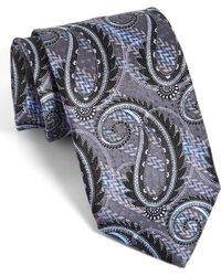 JZ Richards - J.z Richards Paisley Silk Tie - Lyst