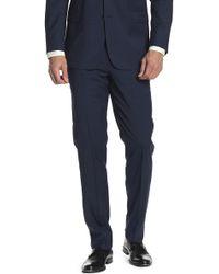 "Brooks Brothers - Navy Blue Glenplaid Wool Regent Fit Suit Separates Trouser - 30-34"" Inseam - Lyst"