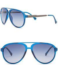 Vince Camuto - Aviator 58mm Acetate Frame Sunglasses - Lyst