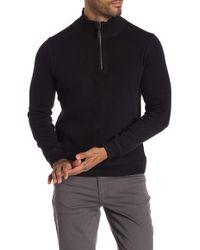 English Laundry - Quarter Zip Mock Neck Sweater - Lyst