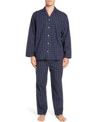 Nordstrom - Poplin Pajama Set - Lyst
