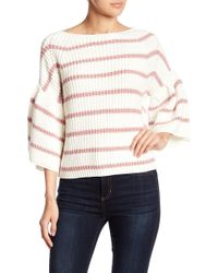 Fate - Colorblock Stripe Knit Sweater - Lyst