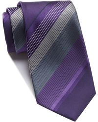 Kenneth Cole Reaction - Large Repeat Stripe Tie - Lyst