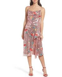 Keepsake - Fullproof Embroidered Sequin Dress - Lyst
