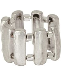 Robert Lee Morris - Sculptural Rectangle Ring - Size 7.5 - Lyst